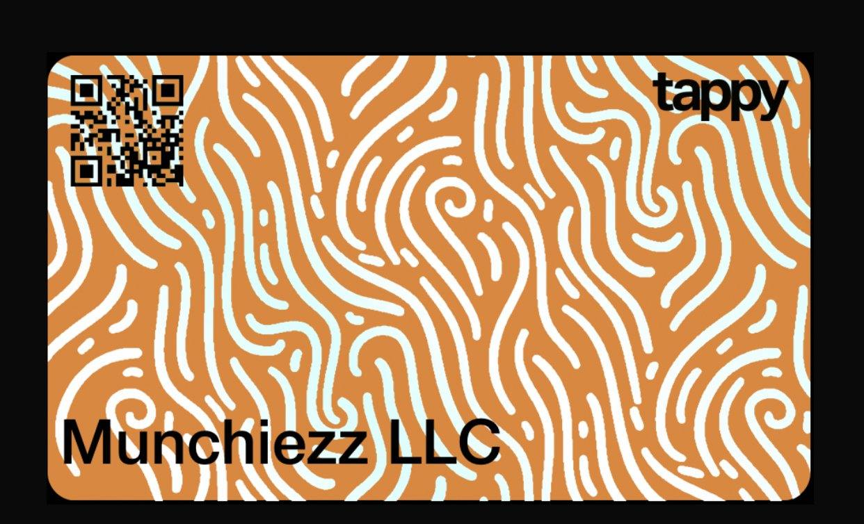 Munchiezz Gift Card - Munchiezz LLC