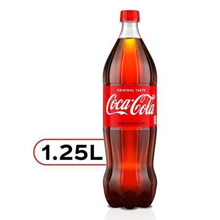 Coca-Cola Soda Soft Drink, 1.25 Liters - Munchiezz LLC