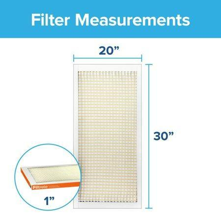 Filtrete, Allergen Defense Micro Particle Reduction HVAC Furnace Air Filter, 800 MPR, 1 Filter - Munchiezz LLC