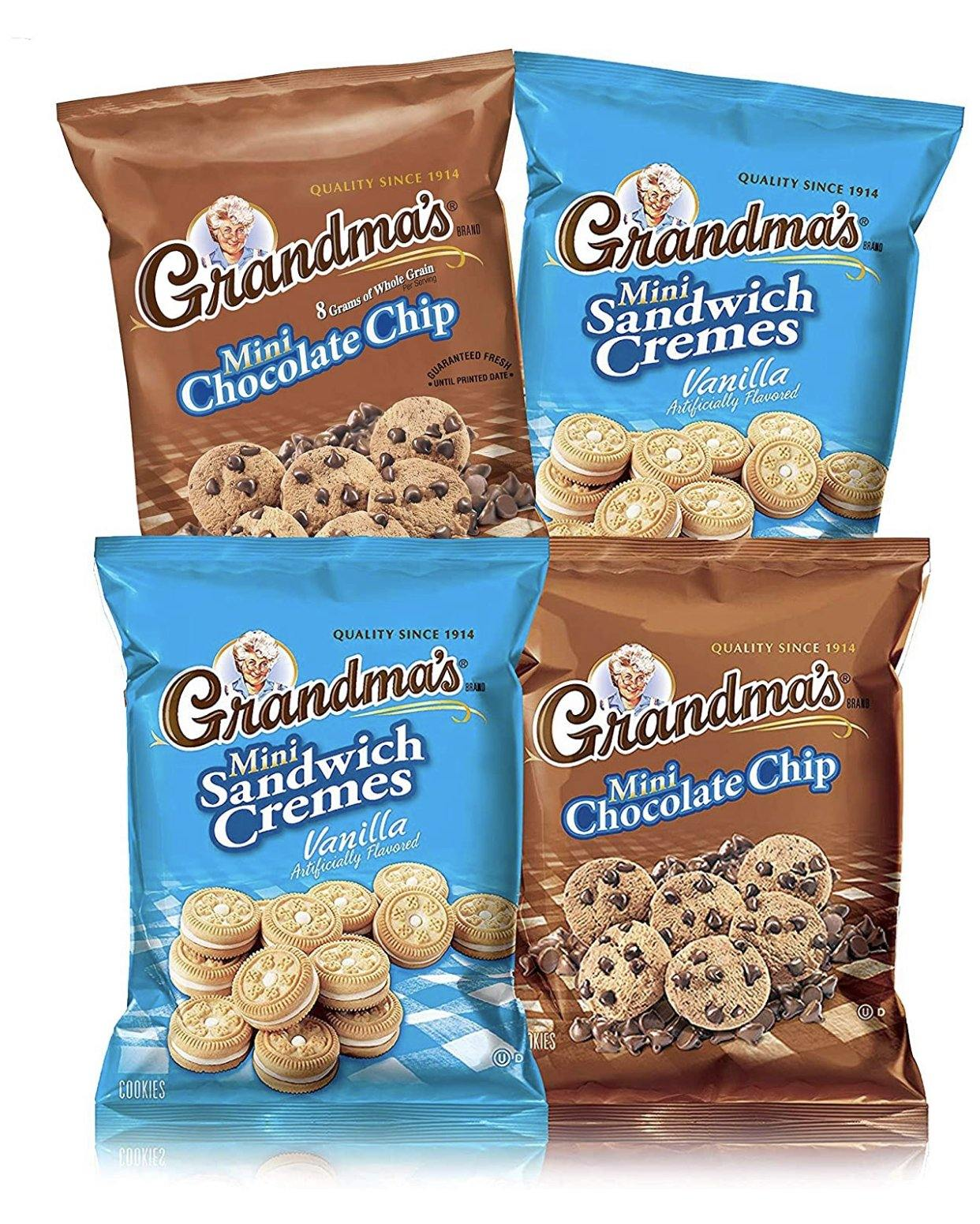 Grandma Mini Cookies - Munchiezz LLC