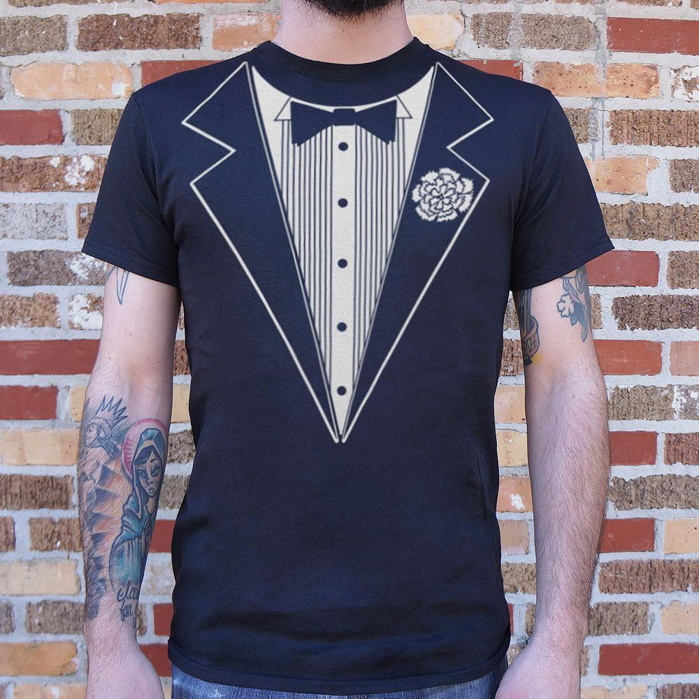 Tuxedo T-Shirt (Mens) - Munchiezz LLC