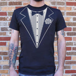 將圖片載入圖庫檢視器 Tuxedo T-Shirt (Mens) - Munchiezz LLC