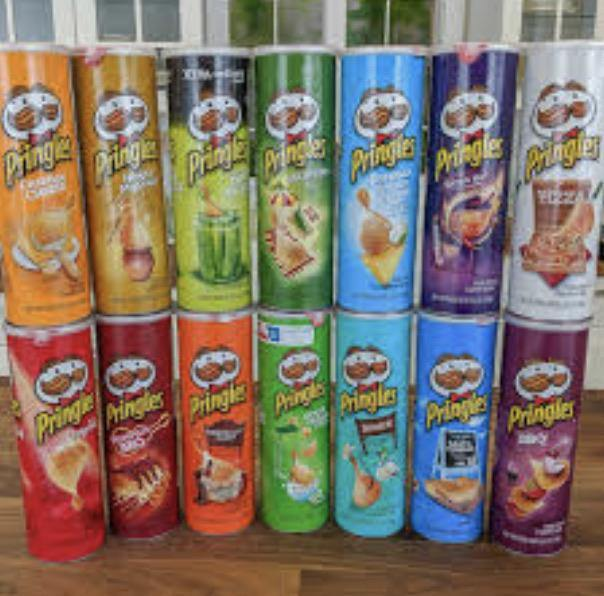 Pringles, Potato Crisps Chips, 5.5 Oz - Munchiezz LLC