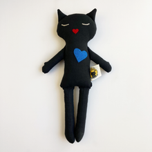 Load image into Gallery viewer, Lovecats (Black Fabric)