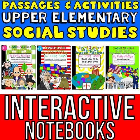 US History For Kids Interactive Notebooks BUNDLE - ClassroomConfections