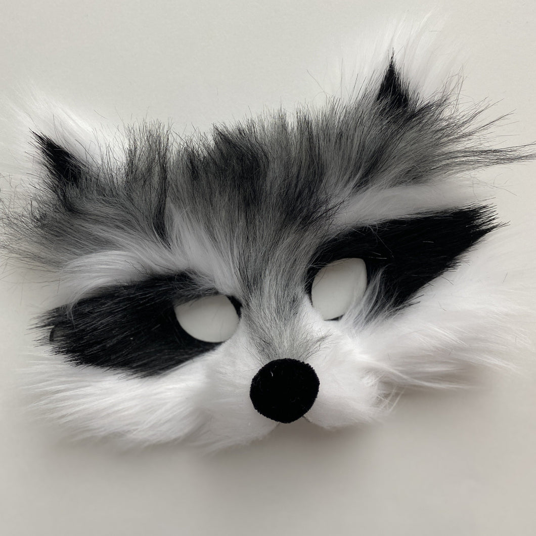 Kids Raccoon Mask
