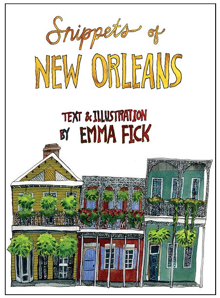 Snippets of New Orleans - Hardcover book
