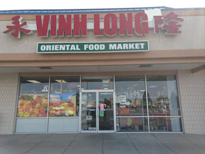 Front view of Vinh Long Oriental Market in Midvale, UT