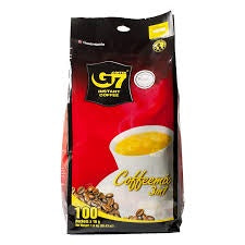 G7 Instant Coffee 3 in 1 Mix 100 packets x 16g Net 56.43oz