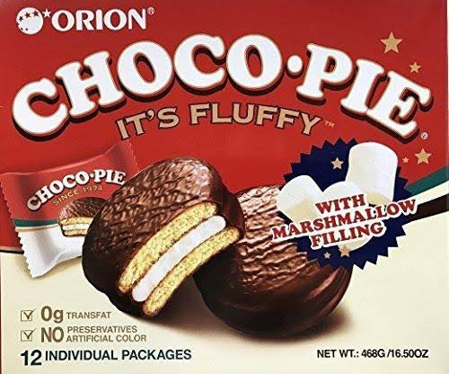 Orion Choco Pie  12 pack 16.5oz