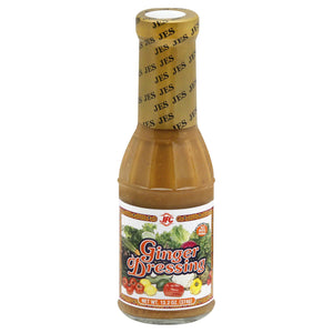 J-Basket Ginger Dressing 12oz