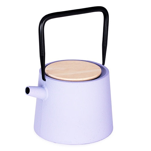 CAST IRON TEAPOT Lilac 30oz