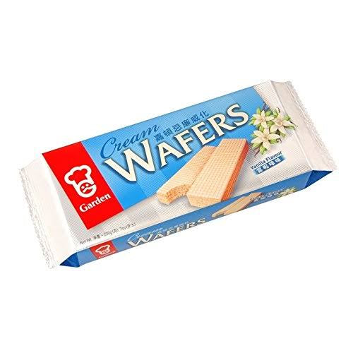 Garden Cream Wafers  Vanilla Flavor 7oz