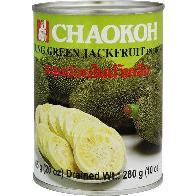 Chaokoh Young Green Jackfruit in Brine 20oz
