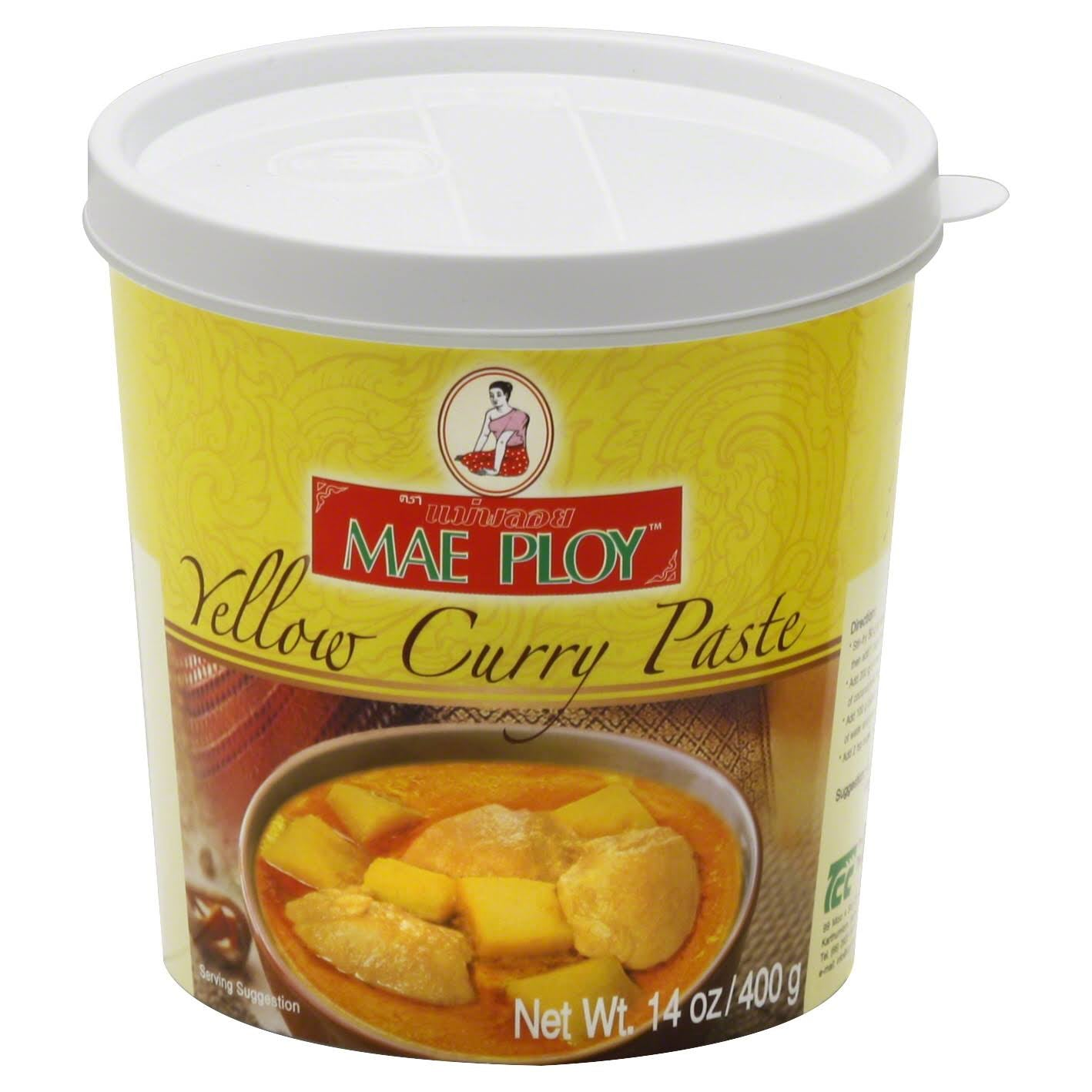 Yellow Curry Paste - 14oz
