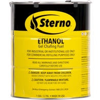 Sterno XL Ethanol Gel Chafing Fuel Can 6lbs 14oz