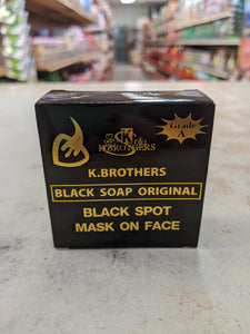 K Brothers Black Soap