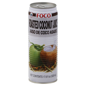 Foco Roasted Coconut Juice 17.6oz