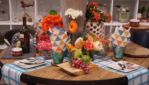 Spring Tablescape Ideas with Tracy on CTV Morning News Winnipeg!