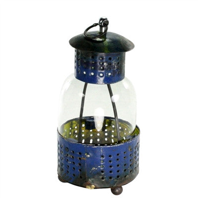 LANTERN - RECLAIMED METAL SMALL - Portico Indoor & Outdoor Living Inc.