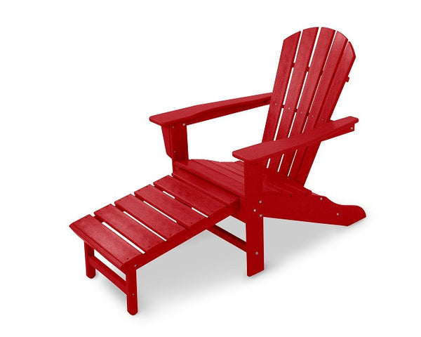 South Beach Ultimate Adirondack - Sunset Red - Portico Indoor & Outdoor Living Inc.