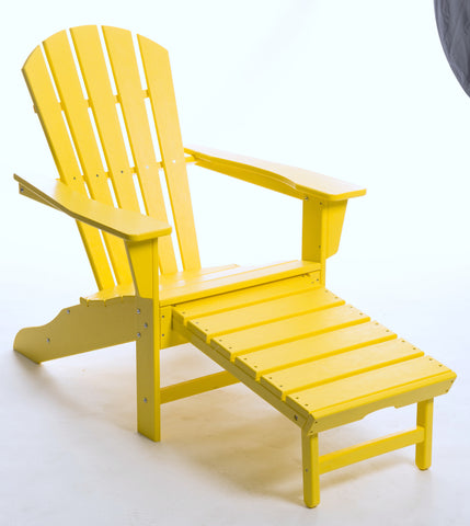 SOUTH BEACH ULTIMATE ADIRONDACK - LEMON - Portico Indoor & Outdoor Living Inc.