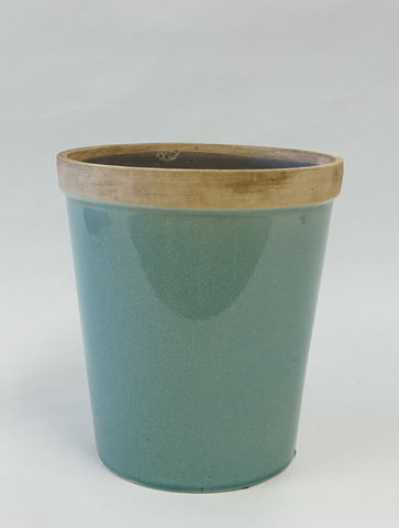 Baxter Ceramic Cachepots-Med - Portico Indoor & Outdoor Living Inc.