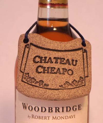 Bottle Tag - Chateau Cheapo - Portico Indoor & Outdoor Living Inc.