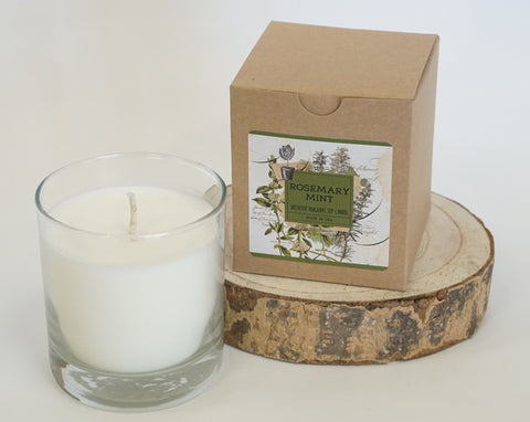 Candle - Soy Rosemary Mint - Portico Indoor & Outdoor Living Inc.