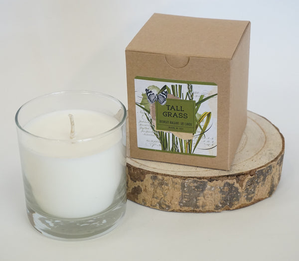Candle - Soy Tall Grass - Portico Indoor & Outdoor Living Inc.