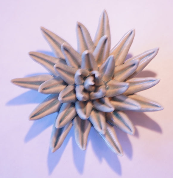 Ceramic Flower - Dahlia Sm Lt Blue - Portico Indoor & Outdoor Living Inc.