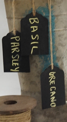 Chalkboard Tags - Hanging - Portico Indoor & Outdoor Living Inc.
