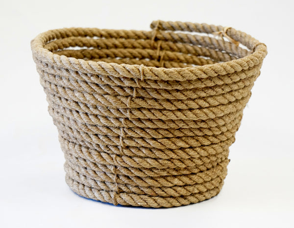 COILED ROPE CACHEPOT LARGE - Portico Indoor & Outdoor Living Inc.