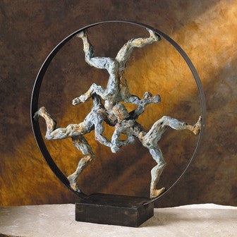 "Rat Race-Bronze Verde 28""H x 9""W x 7""L - Portico Indoor & Outdoor Living Inc."