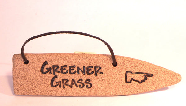 Detour Sign - Greener Grass - Portico Indoor & Outdoor Living Inc.