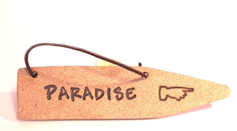 Detour Sign - Paradise - Portico Indoor & Outdoor Living Inc.