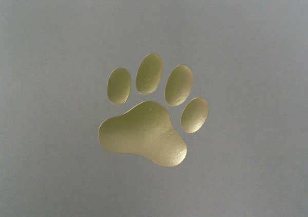 GIFT NOTES - PAWPRINT 10 PK - Portico Indoor & Outdoor Living Inc.
