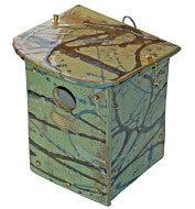 NESTING BOX - GREEN ORCHARD - Portico Indoor & Outdoor Living Inc.