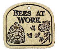 PLAQUE - BEES AT WORK - Portico Indoor & Outdoor Living Inc.