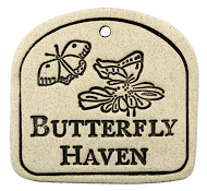 PLAQUE - BUTTERFLY HAVEN - Portico Indoor & Outdoor Living Inc.
