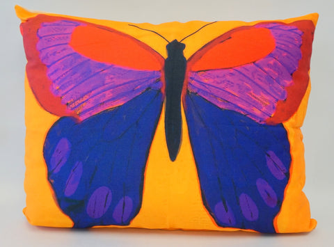 PILLOW - Orange Butterfly - Portico Indoor & Outdoor Living Inc.