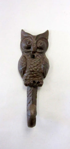 Wall Hook - Owl Brown - Portico Indoor & Outdoor Living Inc.