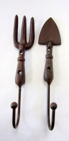 Wall Hook - Metal Garden Tools 2 pc - Portico Indoor & Outdoor Living Inc.