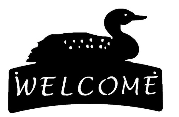 Welcome Plaque - Loon - Portico Indoor & Outdoor Living Inc.