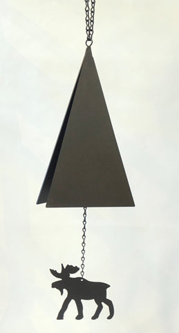 Wind Bell - Cape May Bell w Moose - Portico Indoor & Outdoor Living Inc.