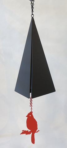 Wind Bell - Pemaquid Bell w Cardinal - Portico Indoor & Outdoor Living Inc.