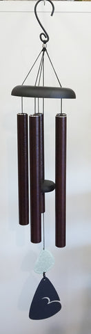 "Wind Chime - Bronze Stone 36"" - Portico Indoor & Outdoor Living Inc."