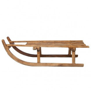 SLED - ANTIQUE/WOODEN - Portico Indoor & Outdoor Living Inc.