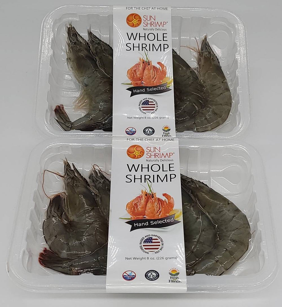 Load image into Gallery viewer, Fresh Harvested Large Whole Sun Shrimp - Family 10 pack - Free Shipping