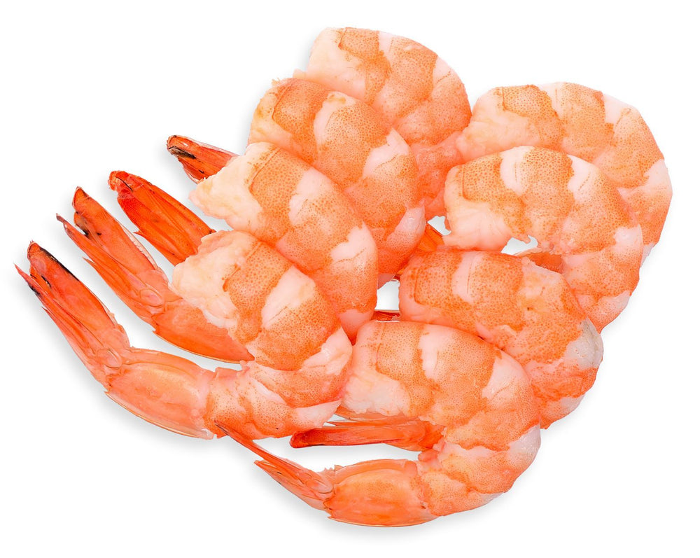 Load image into Gallery viewer, Fresh Harvested Large Peeled and Deveined Sun Shrimp